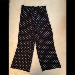 Women's wide leg spring pants
